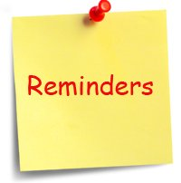 Image result for reminders